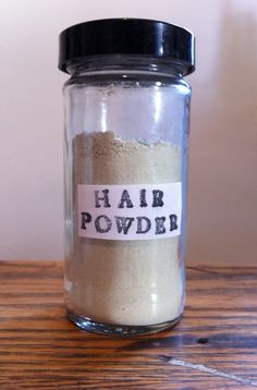 How To: Make Your Own Organic Hair Powder