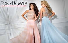 Tony Bowls TB11663 - Coral - Size 8 - Available at Stella's Bridal & Evening Collections