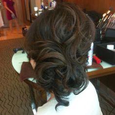 Las Vegas Wedding Hair by Melissa F for Amelia C & Co