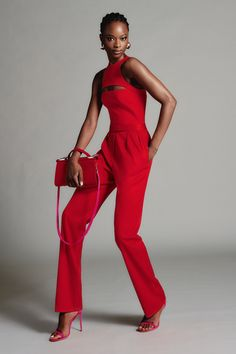 Brandon Maxwell Resort 2021 Collection - Vogue Red Fashion, Fashion 2020, Look Fashion, Runway Fashion, High Fashion, Fashion Show, Fashion Outfits, Fashion Trends, Daily Fashion