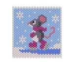 Ice Skating Mouse Panel