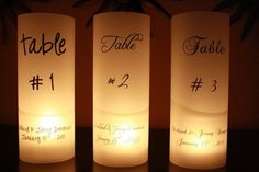 Create a magical & romantic feeling to make your guests feel welcome. With these stunning luminaries your ceremony or reception site will glimmer with a warm flickering glow to create a beautiful ambiance