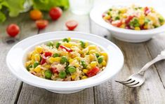 Try this sweet corn rice recipes today. This is the yummy sweet corn rice recipe today. Sweet Corn Recipes, Veg Recipes, Rice And Corn Recipe, Allrecipes, Risotto, Bbq, Ethnic Recipes, Food, Easy
