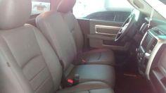 Listo! Montaje total sillas en cuero a DODGE RAM. Dodge, Car Seats, Chairs, Leather