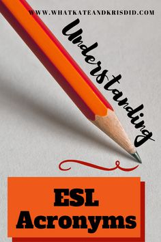 Unravelling the multitude of ESL acronyms out there to help new TEFL teachers to understand the industry and be successful English teachers English Teachers, Teaching English, Teaching Courses, Traveling Teacher, Cool Countries, Esl, Numbers, Group, Live