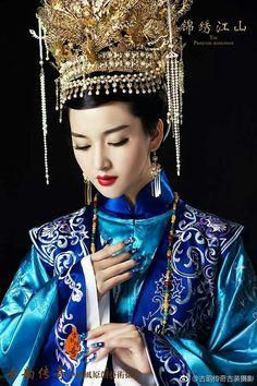 Oriental Fashion, Asian Fashion, Princess Wei Yang, Film China, Tiffany Tang, The Empress, Chinese Culture, Hanfu, Wedding Beauty