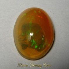 Opal Teh Pelangi Neon 1.85 carat Bening