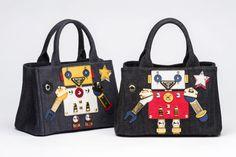 Prada Robot Bags Capsule Collection | L'Officiel |tote bag