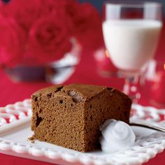 Try gingerbread cake right out of the oven with lots of butter