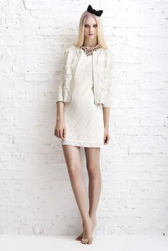 @ErinFetherston takes us beyond the LWD for bridal style. We like it.