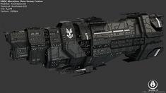 UNSC Marathon Class Heavy Cruiser by Annihilater102.deviantart.com on @deviantART