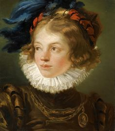 https://flic.kr/p/otSws8 | A Young Boy in the Costume of a Page, Head and Shoulders | 1740s. Oil on canvas. 45,7 x 40,6 cm. Private collection.