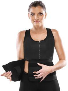 Walkingon #Neoprene Sauna #Vest Body Shaper #Workout #Waist #Trainer Belt