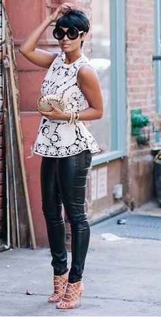120 Work Outfits For African American Women Chic Outfits, Spring Outfits, Fashion Outfits, Womens Fashion, Work Outfits, Cute Fashion, Look Fashion, Autumn Fashion, Moda Fitness