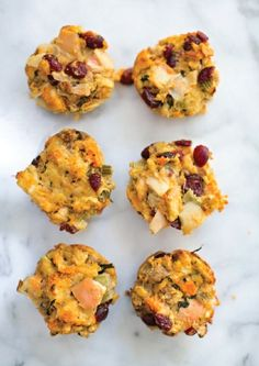 Stuffing Muffins With Apple And Pancetta Recipe — Dishmaps