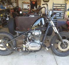 TCBros gas tank Xs650 Bobber, Choppers, Yamaha, Old School, Motorcycle, Bike, Vehicles, Projects, Motorcycles