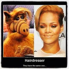 love alf their style does match! :/