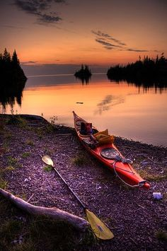 Really want to kayak this summer Herring Bay Sunset, Isle Royale, Lake Superior Kayaks, Canoe And Kayak, Kayak Fishing, Kayak Camping, Canoe Boat, Canoe Trip, Fishing Tips, Fishing Boats, Lake Superior