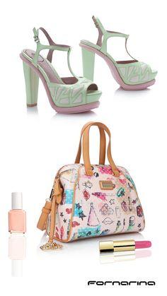 Fornarina ss14 accessories. #Pastel #Colors #myFornarina