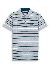 Double Collar Stripe Pique Polo Ben Sherman, Polo Shirt, Mens Tops, Shirts, Fashion, Pique, Moda, Polos, Fashion Styles
