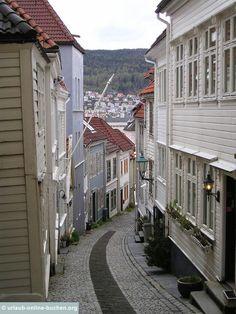 Altstadt, Bergen, Norwegen