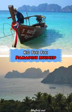 I've been to Ko Phi Phi 3 times. The first 2 times it WAS paradise on earth. The 3rd time is the way I've described it in this post. If you're going to Ko Phi Phi you're about 15 years behind the times – give it a skip. #phiphi #Thailand