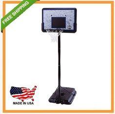 Lifetime Basketball Goal - 1221 Portable Basketball System Impact Backboard