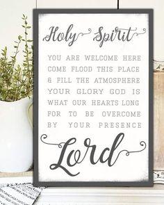 Holy Spirit Lead Me - Wall Art