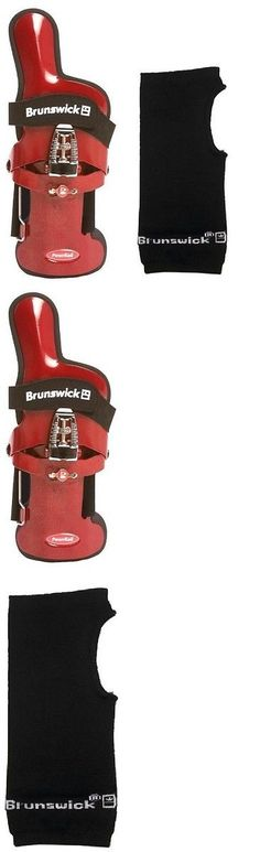 Gloves 111256: Brunswick Powrkoil Xf Bowling Ball Wrist Brace Right Hand X-Large And Liner -> BUY IT NOW ONLY: $46.95 on eBay! Bowling Accessories, Wrist Brace, Bowling Ball, Braces, Gloves, Ebay, Fashion, Moda, Fashion Styles
