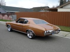 72 chevelle bonspeed wheels split spoke