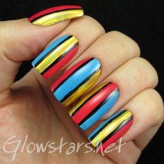 Colour blocking and foils
