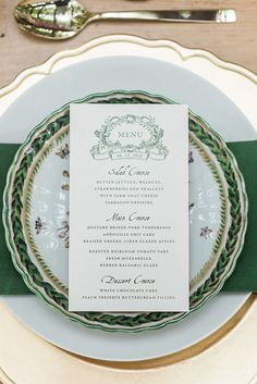 wedding menu ideas - photo by B. Jones Photography http://ruffledblog.com/pacific-northwest-garden-wedding-inspiration