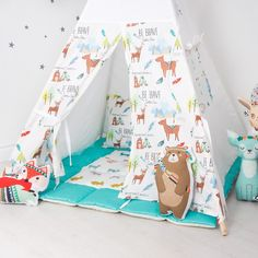 """Мечта Индейца"" Kids Teepee Tent, Teepees, Small Tent, Camping With A Baby, Baby Bedroom, Infant Activities, Kid Spaces, Playroom, Kids Room"