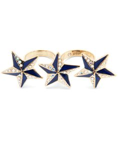 This is such an AWESOME ring!!!!! I totally want it. Betsey Johnson sale $31.50