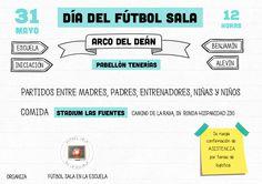 Día del fútbol sala Arco del Deán 2015