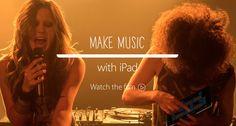"""Apple publicó el nuevo video publicitario del iPad """"Make Music with iPad"""". En este video se destacan varias aplicaciones que permiten crear y grabar música con el iPad. http://www.apple.com/ipad/changing-music/"""