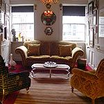 A Soho town house of exquisite character, now 270 years old. Eclectic, authentic and intimate. Counselling Room, West End, Soho, Townhouse, Warm, Chair, Rooms, Furniture, Home Decor