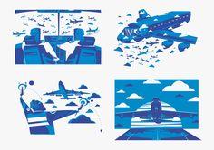 Ilustración / Transferia junto a Citizen Vector
