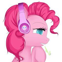Pinkie's Headphones.