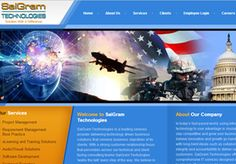 Information Technology Web Design >>  Elegant HTML design for technology solutions provider.