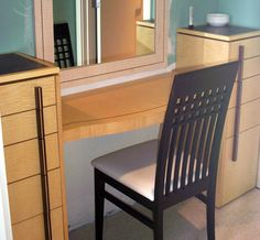 vanities with open towel shelf  Austin Modern Bathroom Vanities