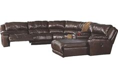 Java Braxton 6-Piece Sectional View 2