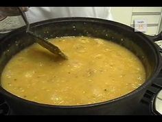Receita - Caldo de Mandioca com Bacon e Calabresa @ Flash Tv