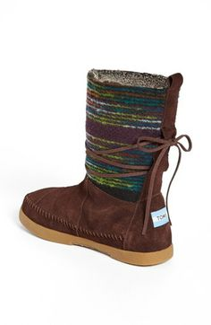 TOMS 'Nepal' Boot (Women) | Nordstrom I have to have these boots! :)) I better hint to Mark ;)
