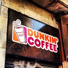 INTERESTING: Did you know Dunkin' Donuts is called Dunkin' Coffee in Spain?