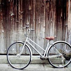 vintage bicycle Art Print
