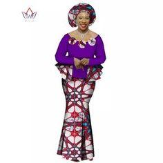 African Women Clothing Top-Skirt Set Dashiki Cotton Print Custom-Made Style African Print Dresses, African Print Fashion, Africa Fashion, African Fashion Dresses, African Dress, African Clothes, African Prints, Ankara Fashion, Ghanaian Fashion
