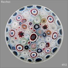 Superb antique Bacchus paperweight, made in Birmingham (UK) around 1850.  3 1/2 inch diameter.