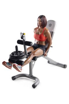Get those calories off and muscles toned with this Gold's Gym XRS 20 Olympic Workout Bench (with Removable Preacher Pad). This adjustable workout bench is made of solid materials, giving you a sturdy and stable platform. Home Gym Bench, At Home Gym, Lifting Workouts, Gym Workouts, 99 Workout, Gym Exercise Equipment, Fitness Equipment, Gym Fitness, House Of Pain