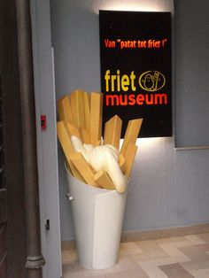 Potato Museum #2 (aka Friet or Belgian Fry) in Brussels, Belgium